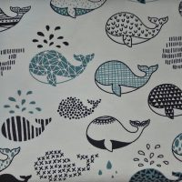 Roba de punt - balenes
