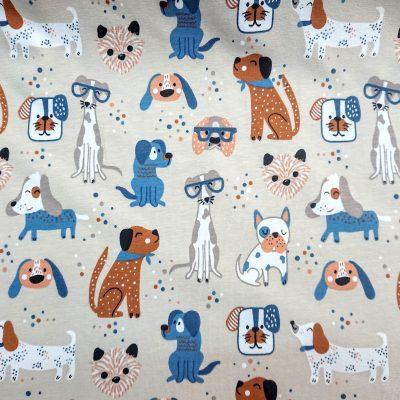 Tela de punt - Gossos