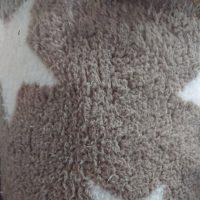 Tela sintètica - Borreguillo estrelles beix