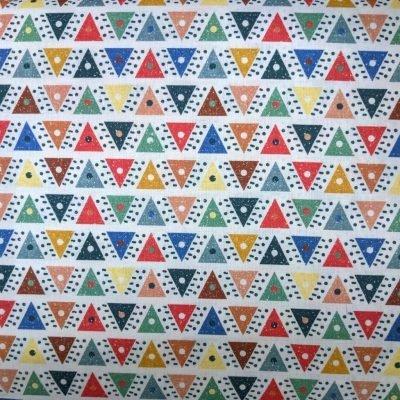 Tela de cotó - triangles